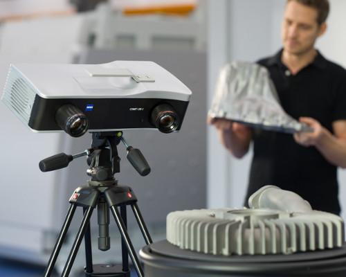 3D scanner met draaitafel